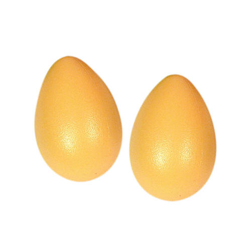 LP Rhythmix Plastic Egg Shakers (Pair) Sunshine