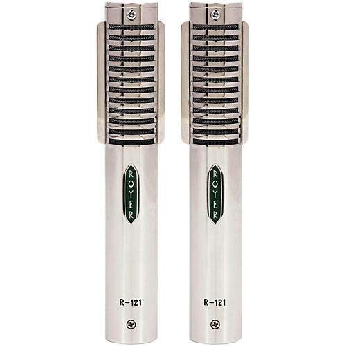 Royer Ribbon Microphone Limited Edition Matched Pair-thumbnail