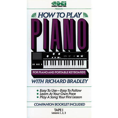 Alfred Richard Bradley How to Play Piano, Tape 1