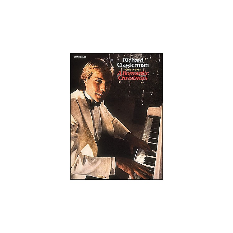 Hal Leonard Richard Clayderman - A Romantic Christmas Piano Solos