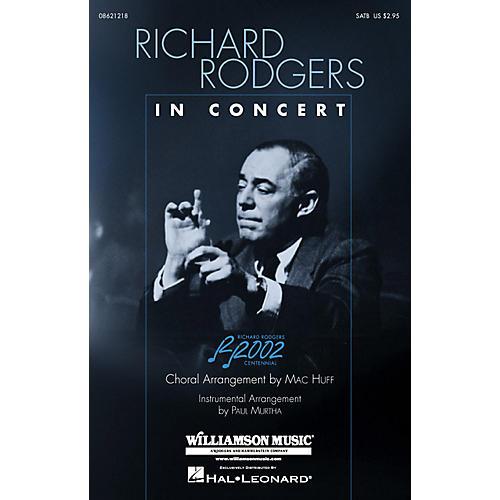 Hal Leonard Richard Rodgers in Concert (Medley) (SATB) SATB arranged by Mac Huff-thumbnail