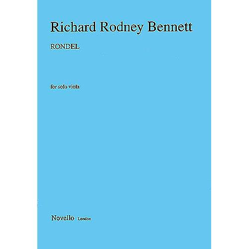 Music Sales Richard Rodney Bennett: Rondel For Solo Viola Music Sales America Series