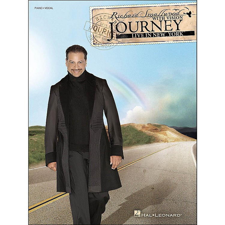 Hal Leonard Richard Smallwood Journey: Live In New York arranged for piano, vocal, and guitar (P/V/G)