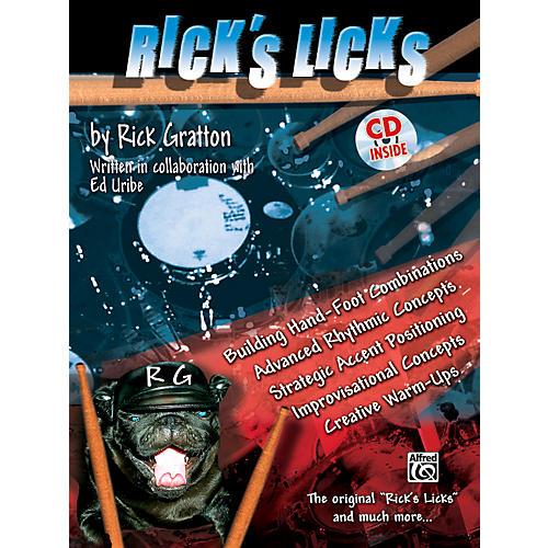 Alfred Rick's Licks (Drum Book/CD)-thumbnail