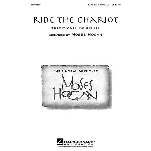 Hal Leonard Ride the Chariot SATB a cappella arranged by Moses Hogan-thumbnail