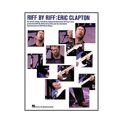 Hal Leonard Riff by Riff: Eric Clapton (Book/CD)