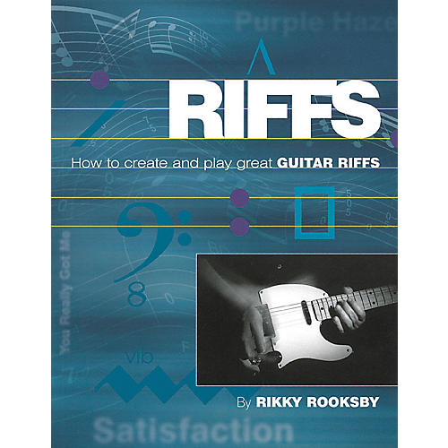 Backbeat Books Riffs: How to Create and Play Great Guitar Riffs (Book/CD)-thumbnail