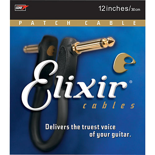 Elixir Right Angle Patch Cable