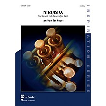 De Haske Music Rikudim (Four Israeli Folkdances for Band) Concert Band Level 4 Composed by Jan Van der Roost