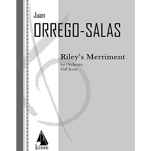 Lauren Keiser Music Publishing Riley's Merriment, Op. 94 LKM Music Series by Juan Orrego-Salas-thumbnail