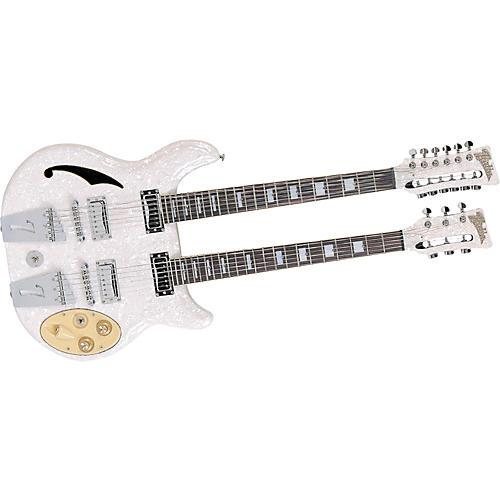 Italia Rimini Double Neck Electric Guitar