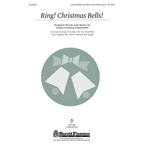 Shawnee Press Ring! Christmas Bells! 2PT TREBLE composed by Vicki Tucker Courtney-thumbnail