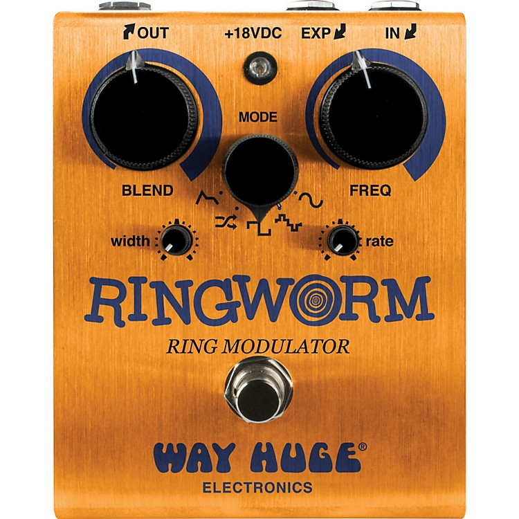 Way Huge Electronics Ring Worm Ring Modulator Guitar Effects Pedal