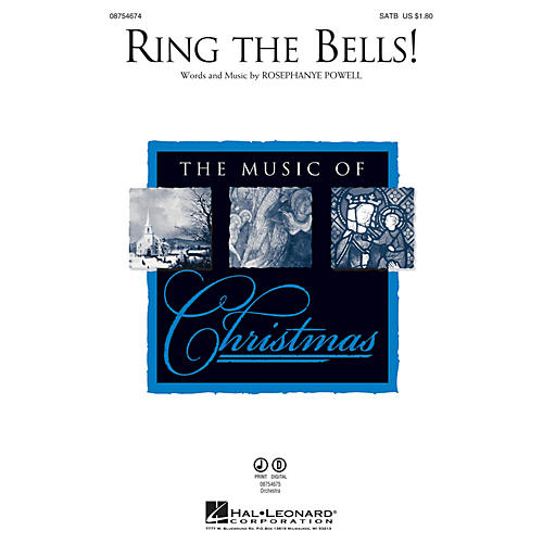 Hal Leonard Ring the Bells! SATB composed by Rosephanye Powell-thumbnail