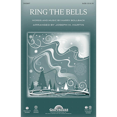 Shawnee Press Ring the Bells Studiotrax CD Arranged by Joseph M. Martin