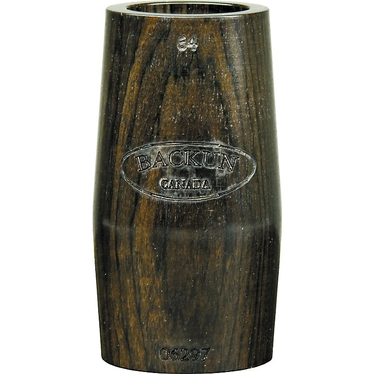 Morrie Backun Ringless Grenadilla Clarinet Barrel 64 mm