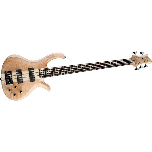 Schecter Guitar Research Riot-5 Maple Burl 5-String Electric Bass Guitar-thumbnail