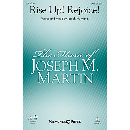 Shawnee Press Rise Up! Rejoice! Studiotrax CD Composed by Joseph M. Martin
