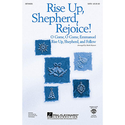 Hal Leonard Rise Up, Shepherd, Rejoice! (from The Christmas Suite) SATB arranged by Mark Brymer
