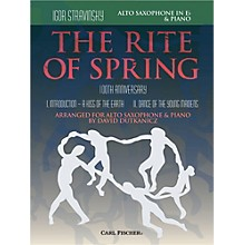Carl Fischer Rite of Spring - Mvts. I & II for Alto Sax & Piano (Book + Sheet Music)