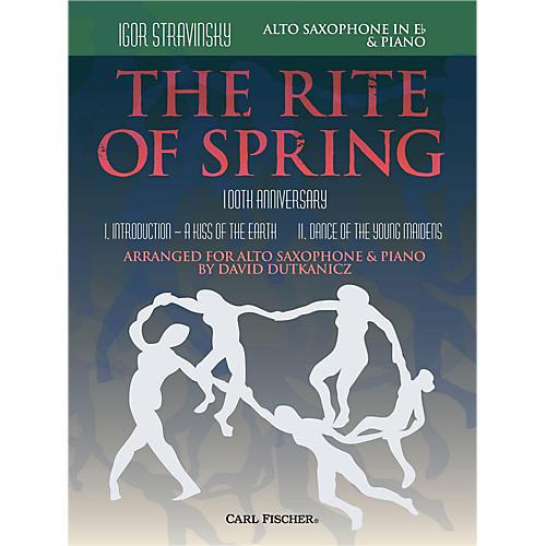Carl Fischer Rite of Spring - Mvts. I & II for Alto Sax & Piano (Book + Sheet Music)-thumbnail