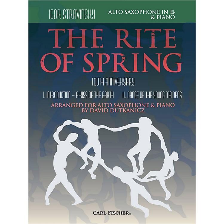 Carl FischerRite of Spring - Mvts. I & II for Alto Sax & Piano (Book + Sheet Music)