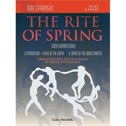 Carl Fischer Rite of Spring - Mvts. I & II for Flute & Piano (Book + Sheet Music)-thumbnail