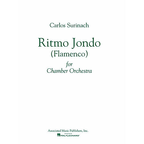 Associated Ritmo Jondo (Flamenco Ballet) (Study Score) Study Score Series Composed by Carlos Surinach-thumbnail