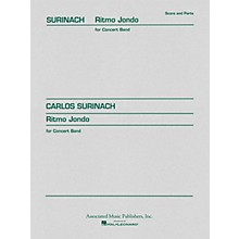Associated Ritmo Jondo (Score and Parts) Concert Band Level 4-5 Composed by Carlos Surinach