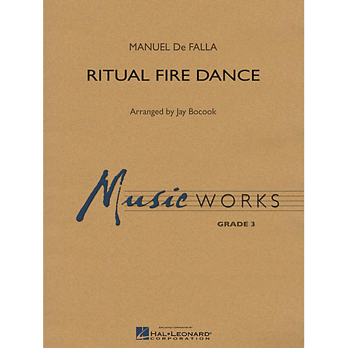 Hal Leonard Ritual Fire Dance Concert Band Level 3 Arranged by Jay Bocook