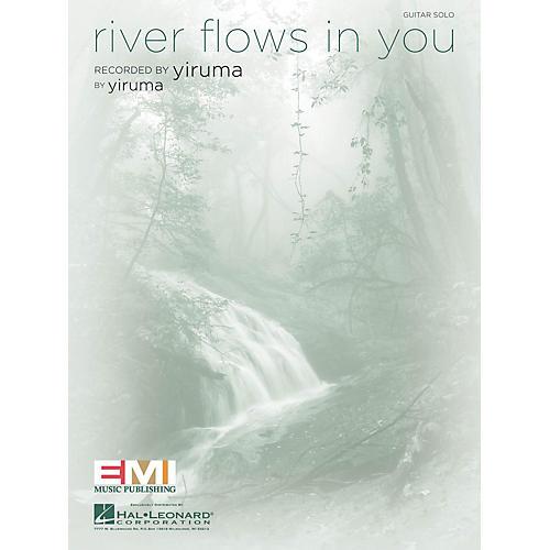 Hal Leonard River Flows in You Guitar Sheet Series Performed by Yiruma-thumbnail