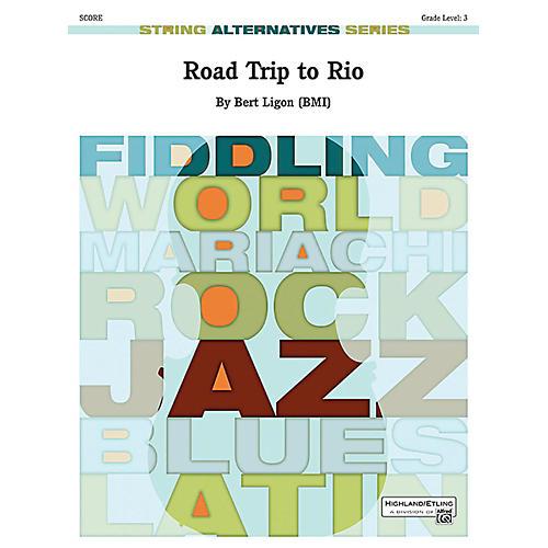 Alfred Road Trip to Rio String Orchestra Grade 3 Set