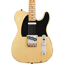 Road Worn '50s Telecaster Electric Guitar Blonde