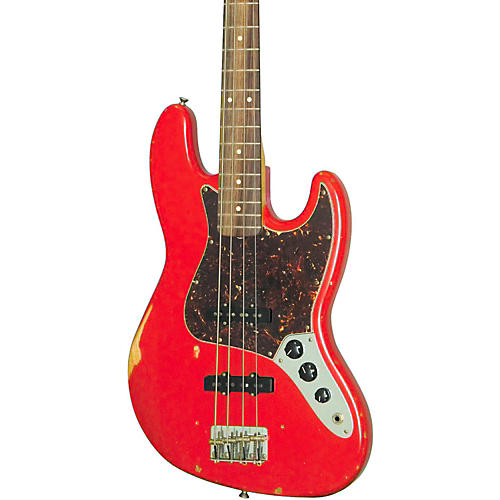 Fender Road Worn '60s Jazz Bass Fiesta Red