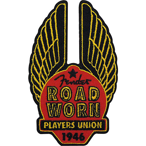 Fender Road Worn Cloth Patch