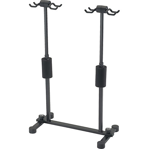 K&M Roadie Four Guitar Stand  Black