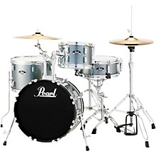Pearl Roadshow 4-Piece Jazz Drum Set Charcoal Metallic
