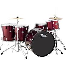 Pearl Roadshow 5-Piece Rock Drum Set Wine Red