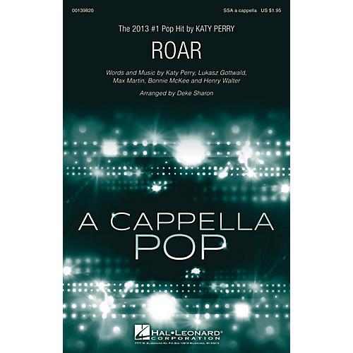 Hal Leonard Roar SSA A Cappella by Katy Perry arranged by Deke Sharon