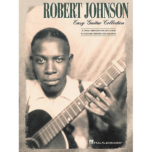 Hal Leonard Robert Johnson Collection Easy Guitar Tab Songbook