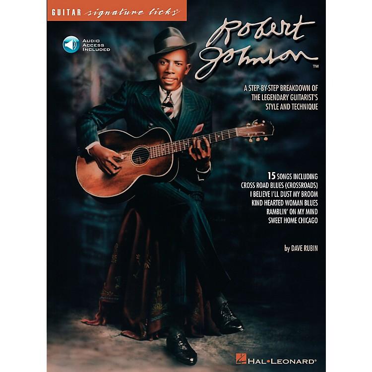 Hal LeonardRobert Johnson Guitar Signature Licks Book with CD