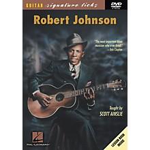 Hal Leonard Robert Johnson Guitar Signature Licks (DVD)