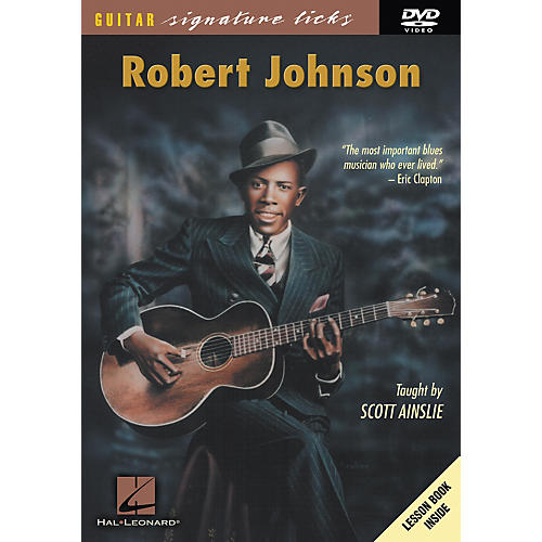 Hal Leonard Robert Johnson Guitar Signature Licks (DVD)