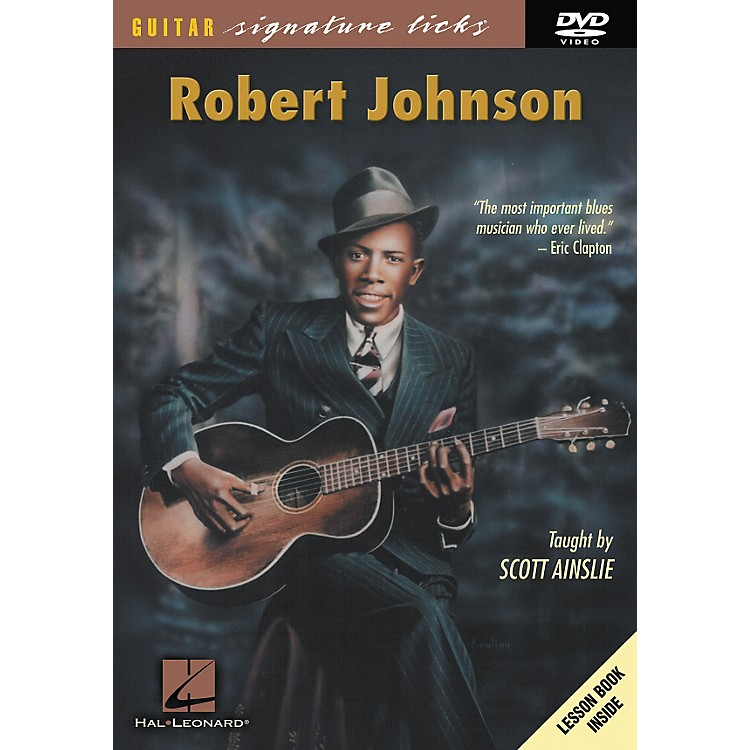 Hal LeonardRobert Johnson Guitar Signature Licks (DVD)