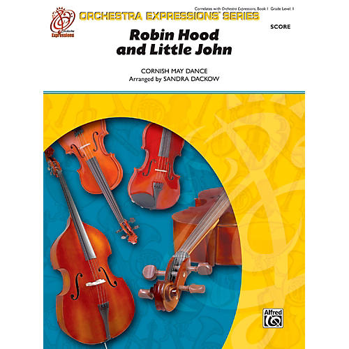 Alfred Robin Hood and Little John String Orchestra Grade 1 Set-thumbnail