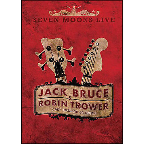 Hal Leonard Robin Trower & Jack Bruce Seven Moons Live Concert DVD Gary Husband On Drums