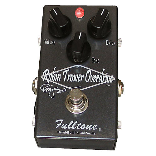 Fulltone Custom Shop Robin Trower Overdrive Guitar Effects Pedal Gray