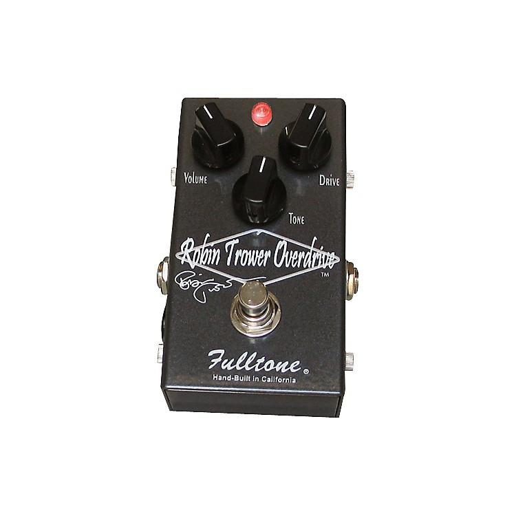 Fulltone Custom Shop Robin Trower Overdrive Guitar Effects Pedal Grey
