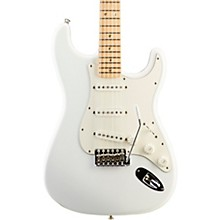 Robin Trower Stratocaster Electric Guitar Arctic White Maple Fretboard
