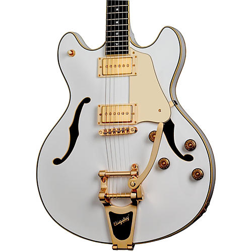 Schecter Guitar Research Robin Zander Signature Corsair Electric Guitar White